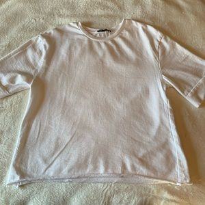 Zara Tops - NWOT White Zara Top